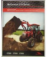 2008 McCormick CTU50U, CT55U, CT65U Tractors Brochure - $7.00