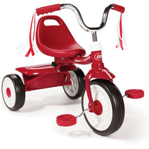 New Radio Flyer Folding Trike Kids Red Bike Tricycle - $51.48