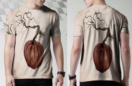 Botanical Pumpkin Limited Tee Men - $23.90