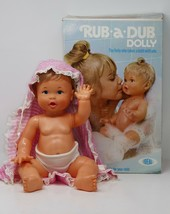 Ideal 1974 Rub-a-Dub Dolly w/Original Box  - $47.49