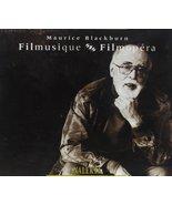 Filmusique / Filmopera [Audio CD] Blackburn, Maurice - $24.10