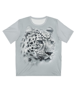 Snow Leopard All Over Print T-Shirt Animal Gift - $27.99+