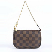 Louis Vuitton Mini Pochette Accessories Damier Ebene Bag image 1