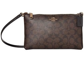 COACH Signature Lyla Crossbody Im/Brown/Black One Size