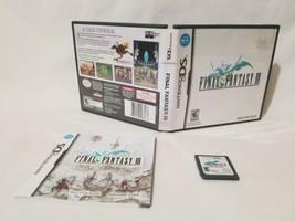 Final Fantasy III/3 (Nintendo DS, 3DS 2006) COMPLETE - $15.47
