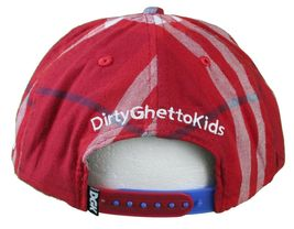 DGK Burgundy Red Plaid For Those Who Come From Nothing Snapback Baseball Hat Cap image 4
