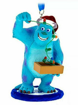 Disney Parks Exclusive Monsters Inc Sulley Santa Hat Christmas Lights Or... - $19.79