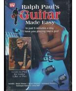Ralph Paul's Guitar Made Easy - $3.92