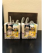 DISNEY SUPER CUTE SMALL SIZE DOLL FOR KIDS 4 IN ONE CASE  - $28.04