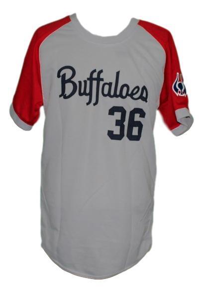 Masato yoshi  36 kintetsu buffaloes japan baseball jersey grey   1