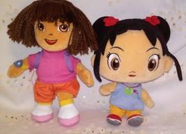 TY Beanie Baby Dora the Explorer & Kai Lan Plush Dolls  - $12.99