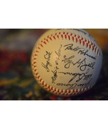 1986 NEW YORK METS BASEBALL with facsimile signatures of the team - $31.68