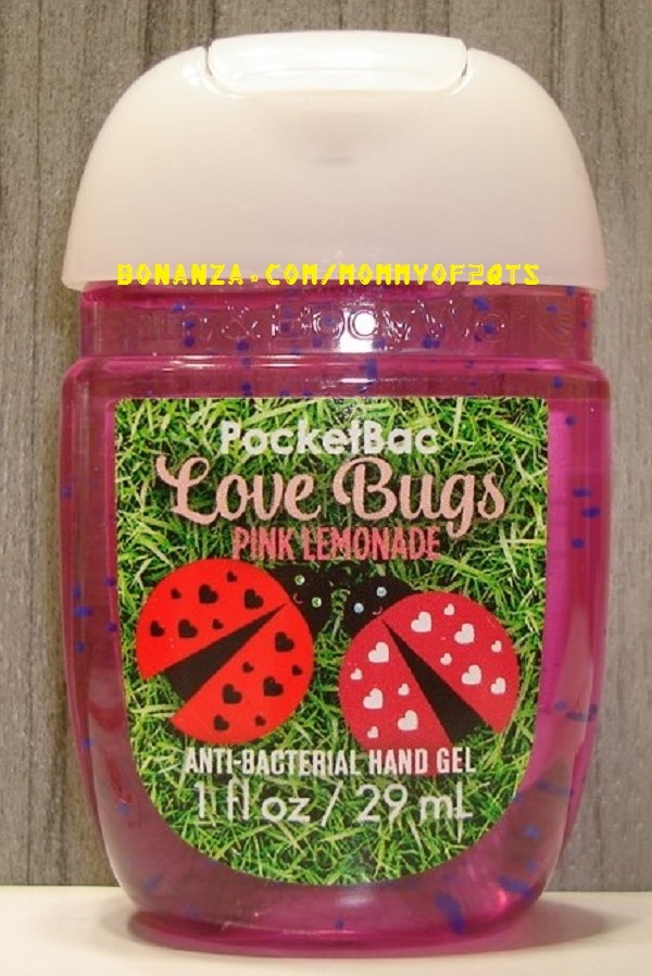 Love Bugs Pink Lemonade Pocketbac and 50 similar items