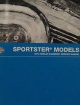 2012 Harley Davidson Sportster Service Werkstatt Handbuch Set Neu mit Elektrisch - $200.97