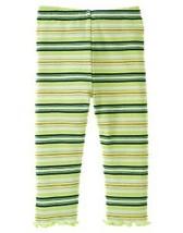 Prep Club Gymboree NWT Striped Ruffled Hem Leggings 6- 12  mos.  - $10.99