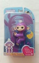 AUTHENTIC Purple MIA ~ FINGERLINGS Interactive Pet Baby Monkey ~ WowWee ... - $44.55
