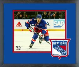 Chris Kreider 2016-17 New York Rangers Action on Ice - 11x14 Matted/Framed Photo - $42.95