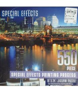 Special Effects New York 550 Pc. Puzzle by Dalmation Press - NEW Ages 12... - $16.03