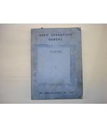 Kafo Operation Manual for Fanuc 21i & 18i - $50.00