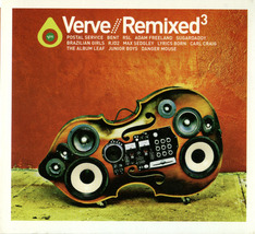 Verve Remixed Vol. 3 CD Postal Service, Danger Mouse ++ - $6.00