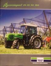 2005 Deutz-Fahr Agrocompact 70,75,90, 100 Tractors Brochure - $8.00