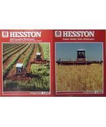 1985 Hesston 6655,6555,6455 Windrowers & Draper Headers Brochures - Lot ... - $10.00
