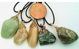 Baroque Style Gemstone Pendant Lot 3 - $15.00