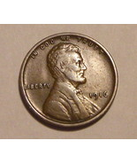 1916 - P Copper Lincoln Wheat Cent (VF) - €1,72 EUR
