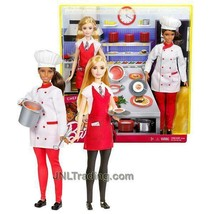 NEW 2016 Barbie Career You Can Be Anything Doll Hispanic CHEF Caucasian ... - $54.99
