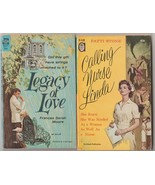 4 vintage pb romances Legacy of Love (Ace), an Ace Double & a Harlequin  - $13.00