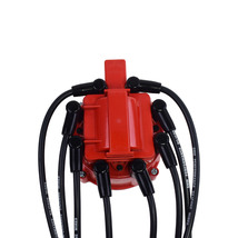 A-Team Performance Silicone Spark Plug Wires with Black 90 Degree Boot SBC Compa image 7