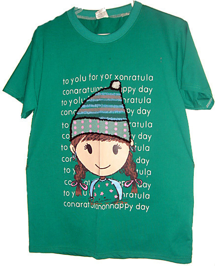 Doll Graphic Tee L