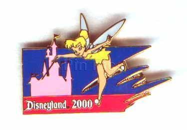 Disney Tinker Bell  Disneyland 2000 castle  Pin/Pins