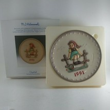 Vintage Hummel Annual Plate 1991 EUC in Original Box; Hummel collectors ... - $21.29
