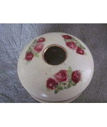 Vintage Ceramic Hair Receiver with Roses  - $27.99