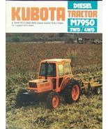 1983 Kubota M7950 Tractor Brochure - Full Color - $10.00