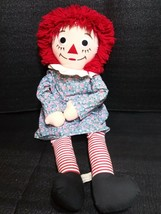 Vintage Raggedy Ann Doll 1991 3 Feet Tall Authentic Johnny Gruelle by Ap... - $29.99