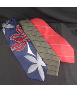 Designer Ties, Lot of Three - $15.00