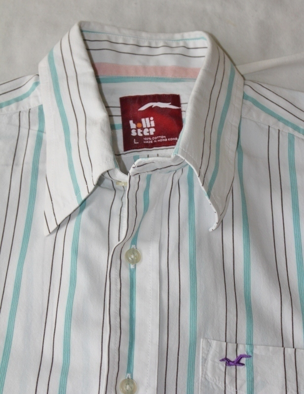 Hollister Mens Button Down Shirt Size Large Great Buy! - $15.95