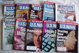 10 U.S.NEWS&WORLD REPORTS-JAN.15, 2001-0CT.13-20,2008-ECONOMICS,POLITICS... - $3.99