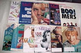 12 MODERN MATURITY-1991-2011-CELEBRITIES,POLITICANS,ACTORS,SINGERS,BOOME... - $9.99