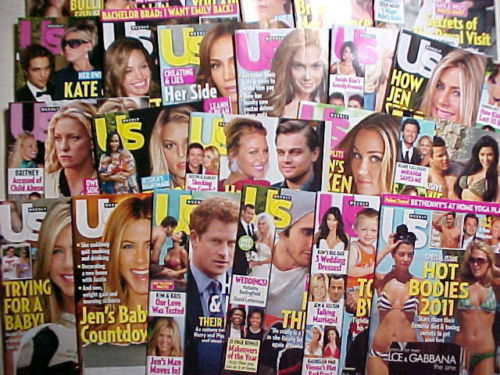 Primary image for 23 US WEEKLY ISSUES-SEPTEMBER 10/ 2007--SEPTEMBER 12/ 2011-FAVORITE CELEBRITIES!