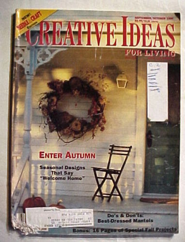 Primary image for Creative Ideas For Living September/October 1990-AUTUMN DESIGNS;MANTELS;PROJECTS