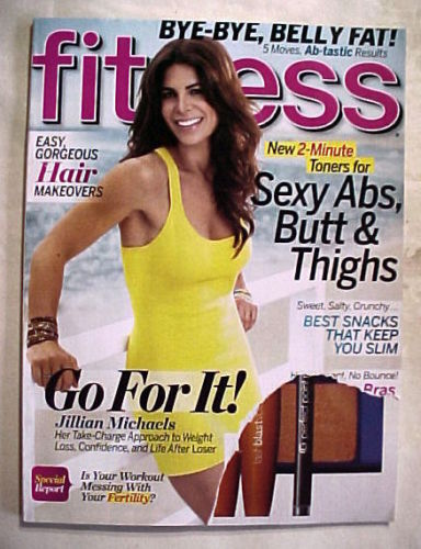 Primary image for FITNESS JULY/AUGUST 2011-SEXY ABS,BUTT&THIGHS;JILLIAN MICHAELS' WEIGHT LOSS;HAIR