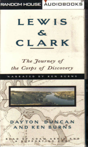 Primary image for Lewis & Clark:The Journey of the Corps of Discovery-KEN BURNS-4 HRS/4 CASSETTES