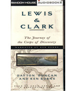 Lewis & Clark:The Journey of the Corps of Discovery-KEN BURNS-4 HRS/4 CA... - $4.97