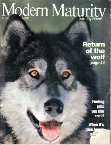 Primary image for MODERN MATURITY-JUNE/JULY 1988-RETURN OF THE WOLF;FINDING JOBS YOU LIKE;WALKING