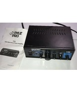Pyle Pro PTA2 Stereo Power Amplifier 2x40W Sold as Not Working For Parts... - $32.71