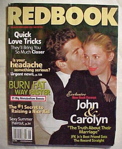Primary image for REDBOOK JUNE 2004-JOHN & CAROLYN-Exclusive New Book Exerpt-Truth About MARRIAGE