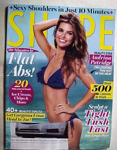 Primary image for SHAPE Magazine JULY 2011-ANDRINA PATRIDGE;FLAT ABS;SCULPT A TIGHT TUSH FAST; 40+